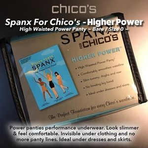 """SPANX Panties """"HigherPower"""" High Waisted PwrPanty"""
